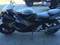 2014 Suzuki Hayabusa in almost brand new shape. I