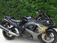 //.,;one owner Hayabusa with only 1400 careful miles.