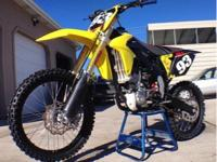 2014 SUZUKI RM-Z 250! I bought this bike brand