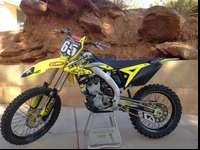 2014 suzuki RMZ 250f. I purchased this bike brand new