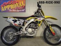 2014 Suzuki RMZ250 Competition Race Bike for just