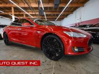 This 2014 Tesla Model S 4dr 4dr Sedan 85 kWh Battery