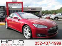 2014 TESLA S85 SPORTS SEDAN - HEATED FRONT AND REAR