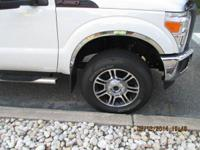 4 Tires and rims from a brand new Ford F250 Platinum