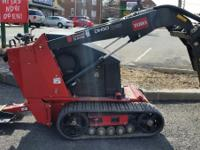 25 HP (18 kW) Kubota engine Turf friendly at only 2001