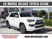 This 2014 Toyota 4Runner Limited is offered to you for