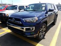 Blue 2014 Toyota 4Runner Limited 4WD 5-Speed Automatic