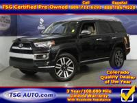 **** JUST IN FOLKS! THIS 2014 TOYOTA 4RUNNER LIMITED