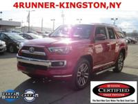 4Runner Limited, 5-Speed Automatic with Overdrive, 4WD,