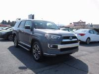 ONE OWNER!! 2014 TOYOTA 4RUNNER LIMITED!! 4WD, 4.0L V6,