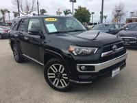 Options:  2014 Toyota 4Runner|Black|1 Owner And Talk