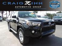 PREMIUM & KEY FEATURES ON THIS 2014 Toyota 4Runner