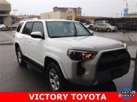 2014 Toyota 4Runner SR5 in White starred featured