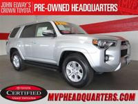2014 Toyota 4Runner SR5 Premium. One owner and just 20k