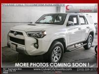Options:  2014 Toyota 4Runner Trail|Super White|Trail