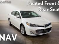 2014 Toyota Avalon Limited. Innovation Package (Dynamic