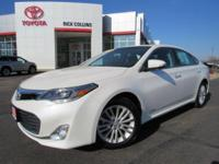 This 2014 Toyota Avalon Hybrid comes equipped with