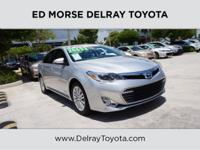 This 2014 Toyota Avalon Hybrid XLE Premium is offered
