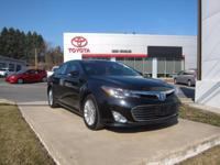 2014 Toyota Avalon Hybrid Certified. CARFAX One-Owner.