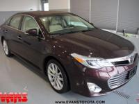 Clean CARFAX. Certified. TN 2014 Toyota Avalon Limited