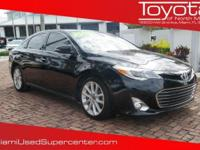 Options:  2014 Toyota Avalon Limited|Black|2014 Toyota