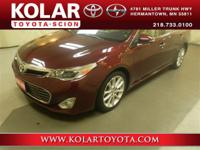 2014 Toyota Avalon LimitedAvalon Limited, Leather,