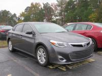 Gray 2014 Toyota Avalon XLE FWD 6-Speed Automatic ECT-i