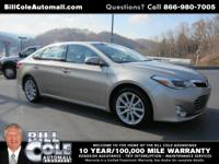 Take command of the road with this 2014 Toyota Avalon.