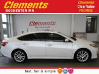 Options:  2014 Toyota Avalon 4Dr Sdn Limited|Navigation