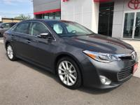 You won't find a more option-packed 2014 Toyota Avalon