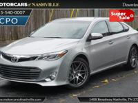 This 2014 Toyota Avalon 4dr 4dr Sedan Limited features