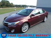 This outstanding example of a 2014 Toyota Avalon 4dr