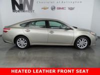 Heated Leather-Trimmed Front Seat, Bluetooth Hands-Free