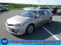 Check out this gently-used 2014 Toyota Avalon Hybrid we