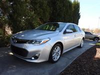 CERTIFIED XLE PREMIUM AVALON, ONE OWNER, ALL BELLS AND