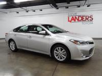 Toyota Certified. XLE Premium, Navigation System, Alloy