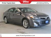 CARFAX One-Owner! Toyota Certified! 2014 Toyota Avalon