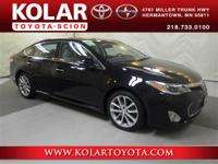 Avalon XLE Touring, Light Gray w/Leather Seat Trim, and