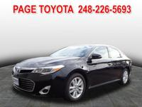 Toyota Certified and 6-Speed Automatic ECT-i. Gasoline!