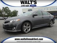 2014 Toyota Camry SE, pre-owned with very low miles and