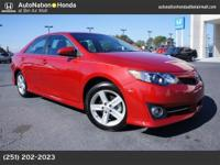 2014 Toyota CAmry SE with 38k miles. Clean carfax.