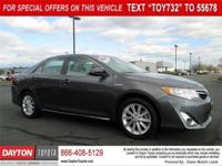 CARFAX One-Owner.  Gray 2014 Toyota Camry  Hybrid XLE