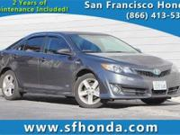 This is a 2014 Toyota Camry Hybrid SE Limited Edition