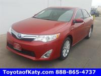 Options:  2014 Toyota Camry Hybrid Xle|Red|Thank For