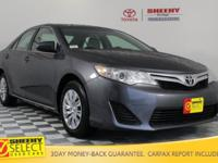 New Price! 2014 Toyota Camry L Certification Program