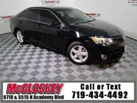 Low miles 2014 Toyota Camry L offering Paddle Shifters,