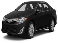 Options:  2014 Toyota Camry L|Take Your Hand Off The