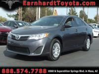 We are happy to offer you this nice 1-OWNER 2014 TOYOTA