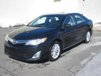 You are looking at a Black, 2014 Toyota Camry XLE. This