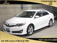 Options:  2014 Toyota Camry L|White| Jim Falk Lexus Of